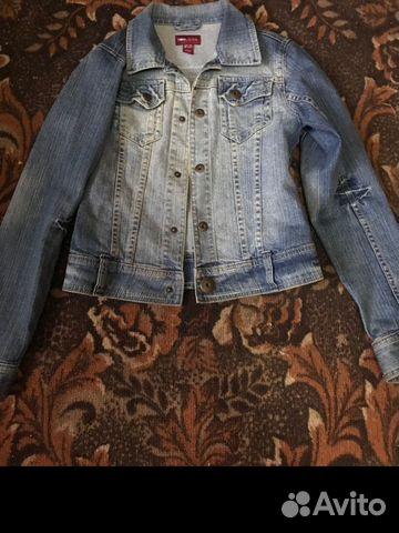 Куртка джинсовая, кардиган и платья купить 7