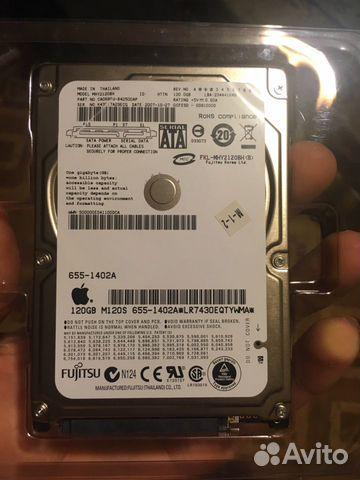 Жесткий диск Macbook a1181 120gb