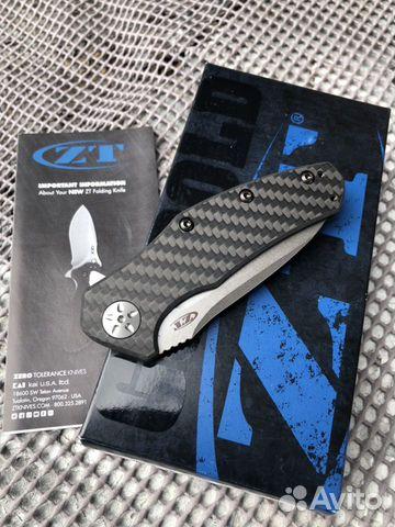 Нож Zero Tolerance ZT 0770CF Assist 89283721536 купить 6