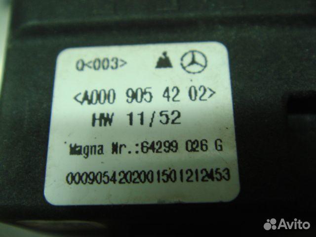 Мерседес камера Кругового обзора Mercedes X166 ML 89205500007 купить 4
