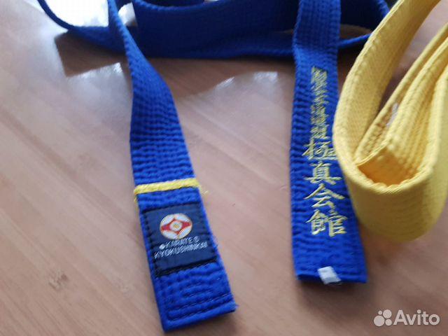 Пояс синий, желтый  купить 3