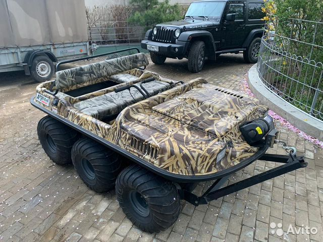 Продам вездеход Argo Bigfoot 6x6 89662713691 купить 1