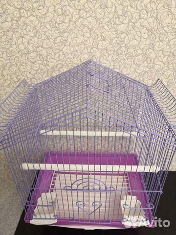 Клетка новая для птиц 89061309030 купить 3