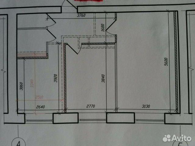 2-room apartment, 49 m2, 9/9 FL. buy 1