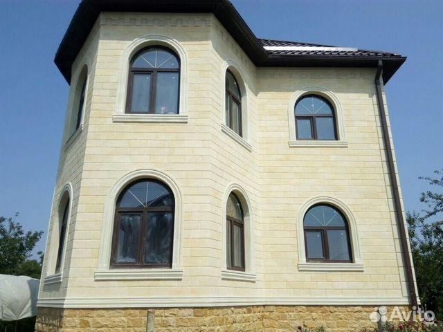 Облицовка фасада Дагестанской плиткой купить 9