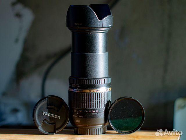 Tamron 18-270 mm F/3.5-6.3 с фильтром Kenko(japan)  89525498668 купить 2