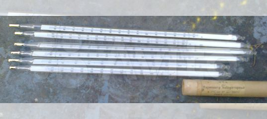Термометр лабораторный ртутный ктз СССР 1960 г купить в Москве | Хобби и отдых | Авито