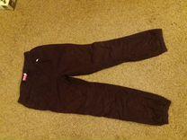 Вельветовые брюки для девочки 6-8 лет