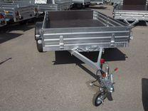 Прицеп (горяч.цинк, рессоры), кузов 2.5х1.5 метра