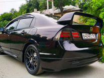 Honda Civic 4d задние фонари BMW Style