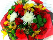 Цветы,букеты.Доставка цветов.Первомайский район