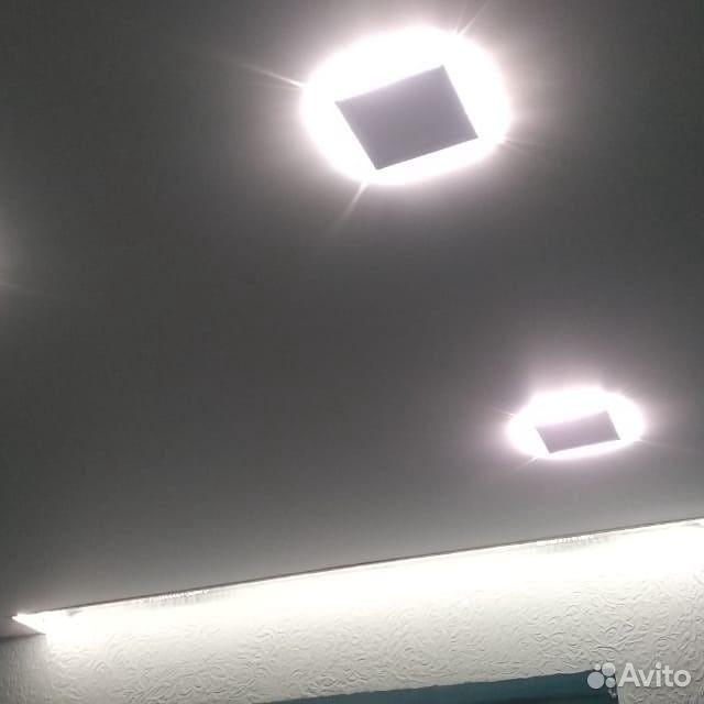 Потолок монтаж