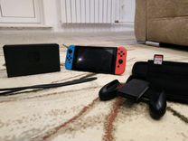 Nintendo switch+гарантия 2 года
