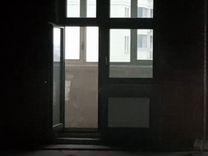 Деревянные окна с дверью. бесплатно. (балконный пр