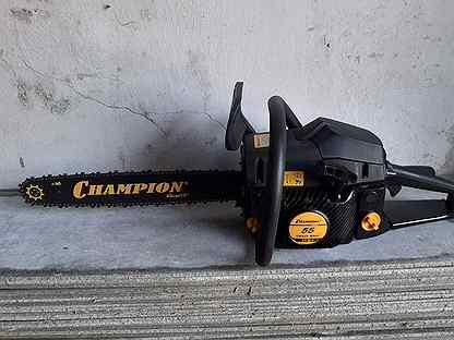 Бензопила Champion 55 с кейсом