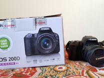 Зеркальный фотоаппарат Canon EOS200D