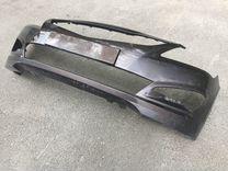 Бампер передний Hyundai Solaris рест коричневый