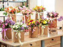 Торговая точка по продаже цветов 5 лет на рынке