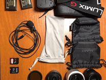 Lumix G80/G85 + комплект для видеосъемки. Обмен