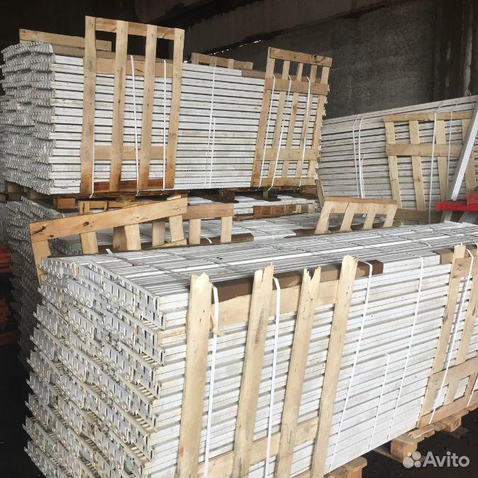 Металлические стеллажи для склада (до 10 м рама)