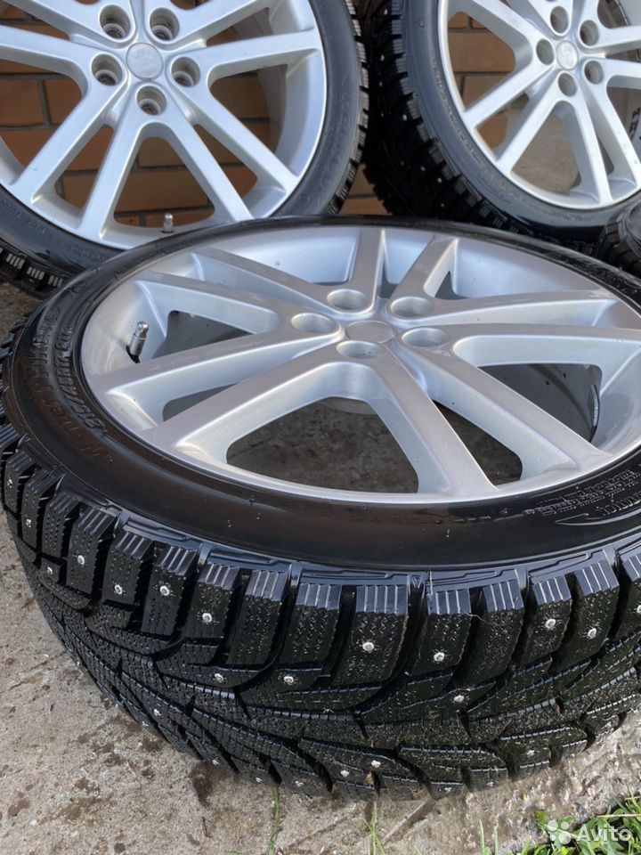 Комплект новых зимних колес на Subaru Sti  89956815638 купить 5