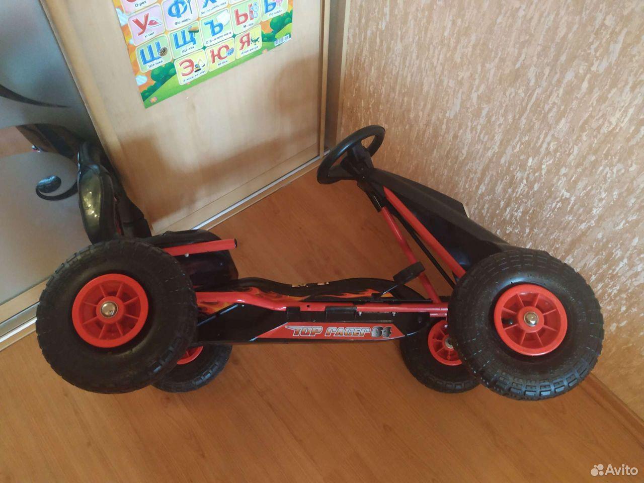 Автокарт с педалями, автомобиль для детей
