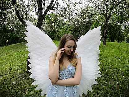 волохова фотосессия с крыльями барнаул хлеба
