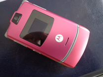 Motorola v3 раскладушка оригинальный розовый