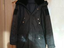 Куртка вмф (Демисезонная, черная)