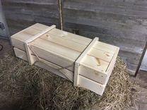 Подарочная упаковка деревянный ящик оригинальный п — Мебель и интерьер в Москве