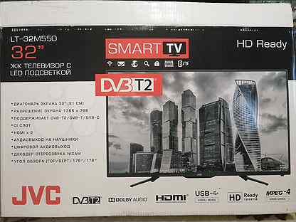 """Телевизор JVC 32"""" Smart"""