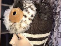Комплект шапка/ шарф для девочки