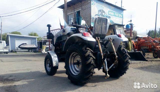 Мини-трактор Скаут Т-220B, 4х2, 18 л.с  88007074451 купить 1