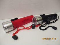 Фонарь подводный (дайвинга) новый светодиодный
