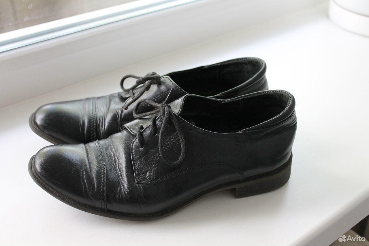 Ботинки из натуральной кожи, Юничел  89659429552 купить 1