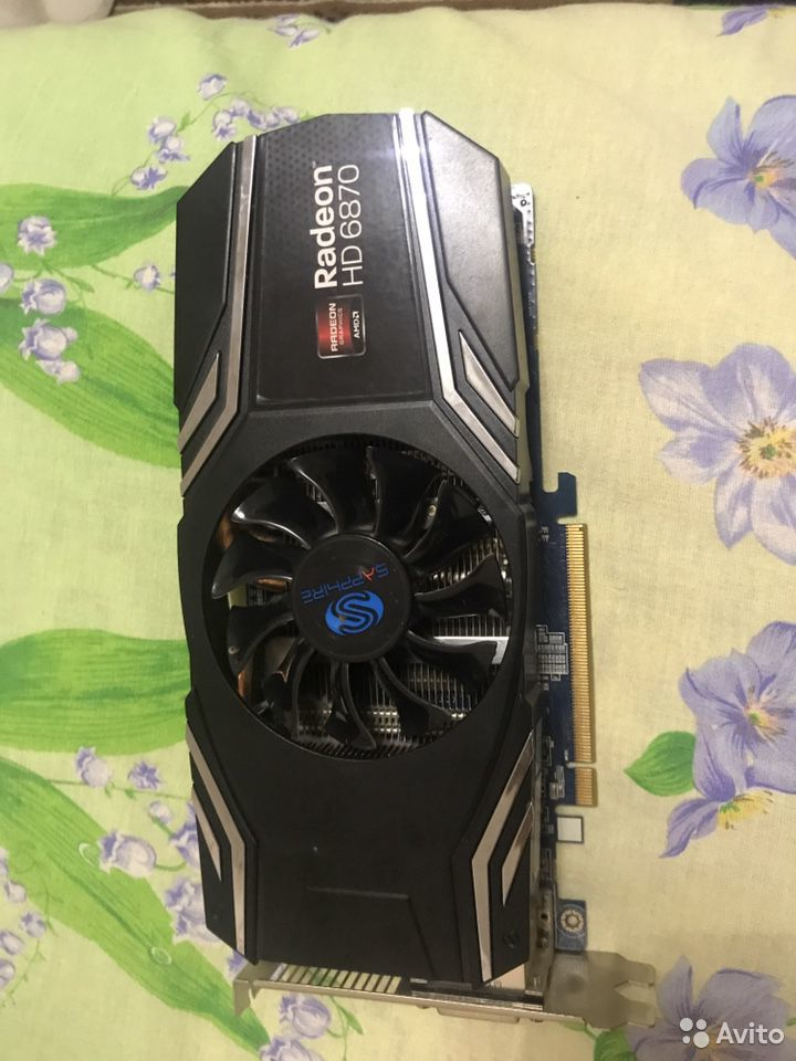 Видеокарта Radeon hd6870  89194000002 купить 1
