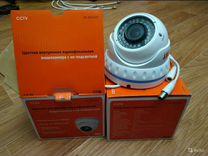 Камера видеонаблюдения купольная с ик подсветкой