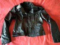 Кожаная куртка Vericci — Одежда, обувь, аксессуары в Москве
