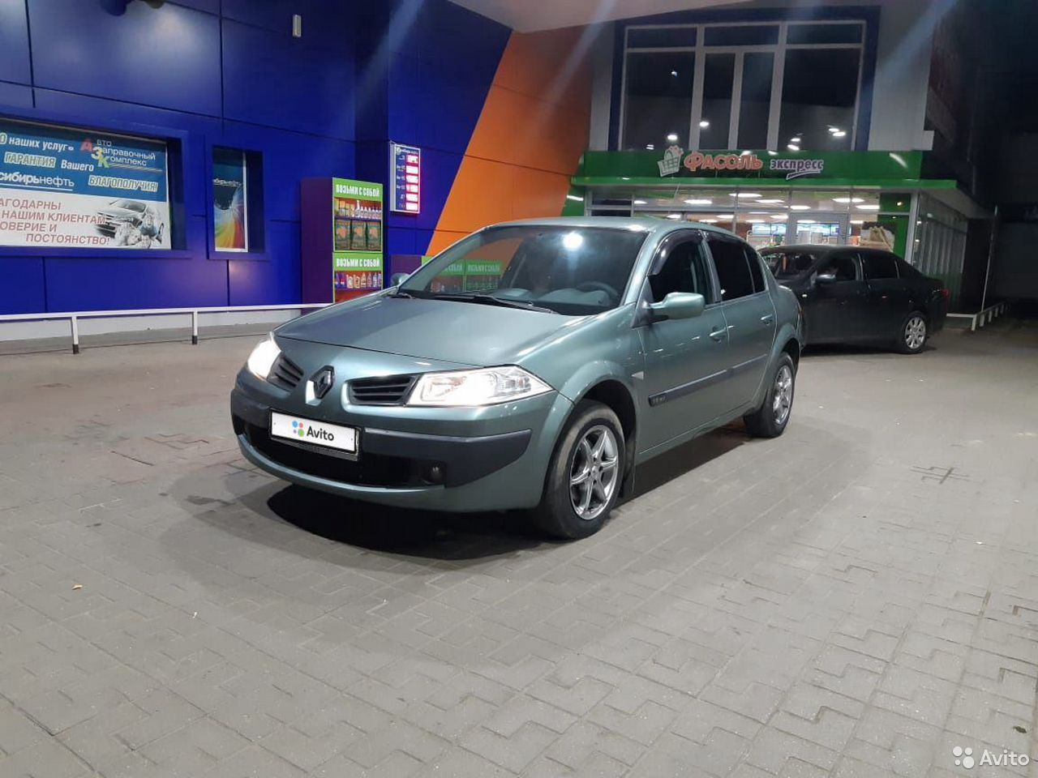 Renault Megane, 2006  89853680671 купить 1