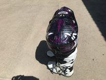 Кроссовый мото шлем shoel