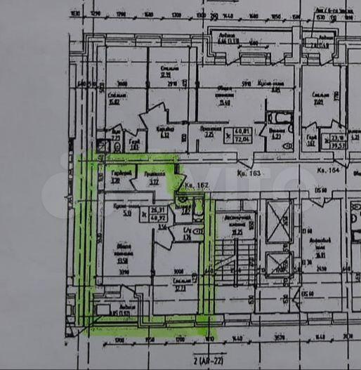 2-к квартира, 48.9 м², 10/16 эт.  89029982070 купить 2
