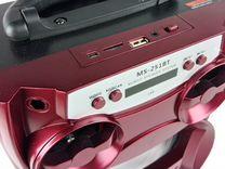 Колонка аккумуляторная красная MS-251BT