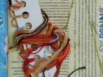 Схема для вышивки Прибыль с остатками ниток — Коллекционирование в Екатеринбурге