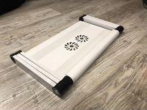 Стол для ноутбука Crown белый