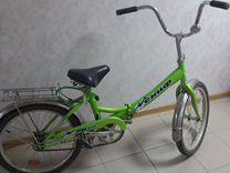 Складной велосипед скиф 20 line