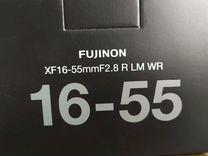 Fujifilm XF 16-55mm f/2.8 R LM WR новый