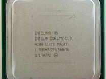 Intel Core 2 Duo E4300 сокет 775