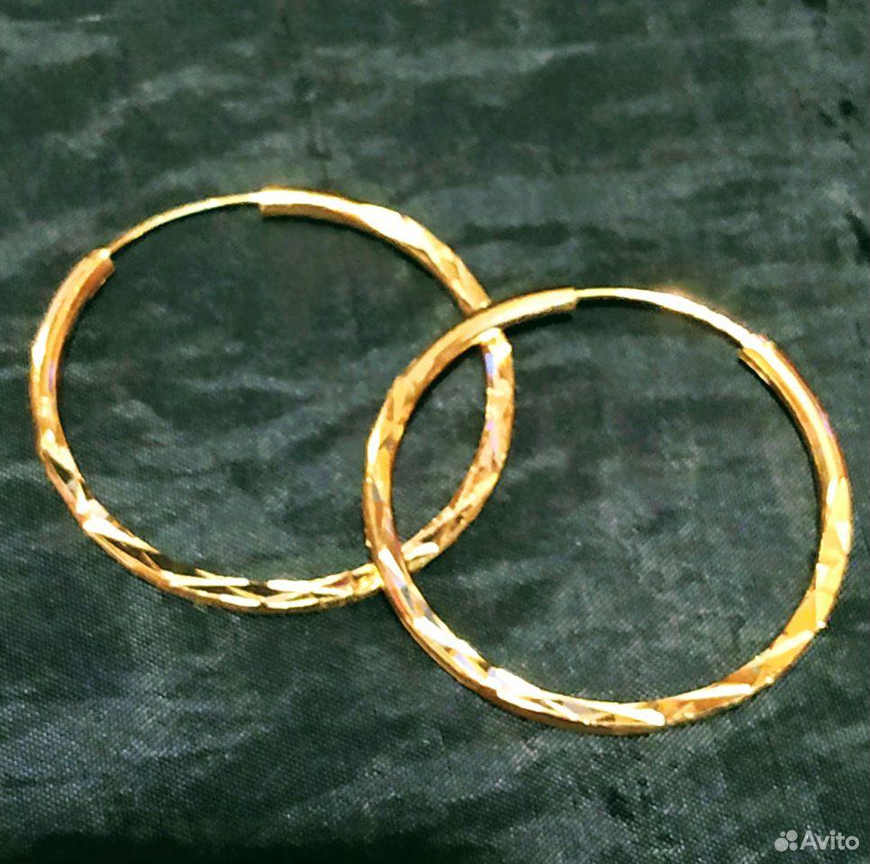 Дубайское золото,серьги  89869310589 купить 1