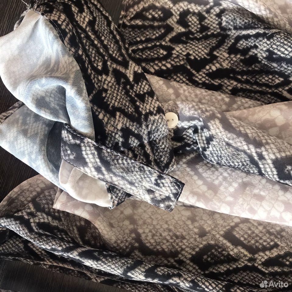 Рубашка со змеиным принтом  89173662533 купить 2