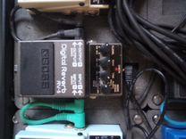 Педаль эффектoв. boss Digital Reverb RV-5